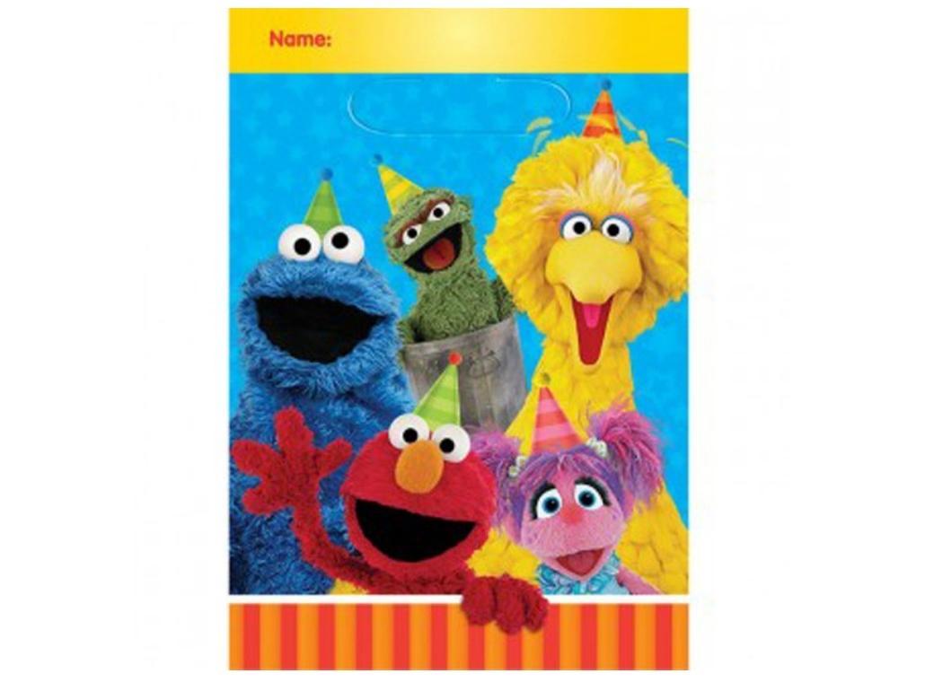 Sesame Street - Loot Bags 8pk
