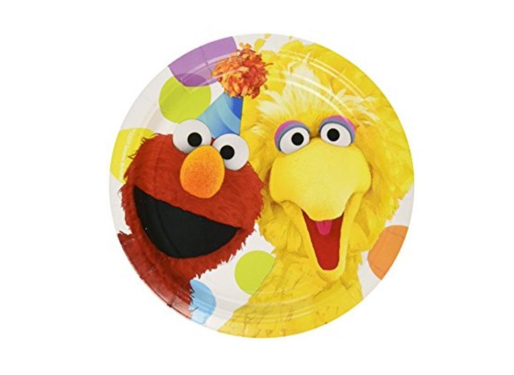 Sesame Street - Lunch Plates 8pk