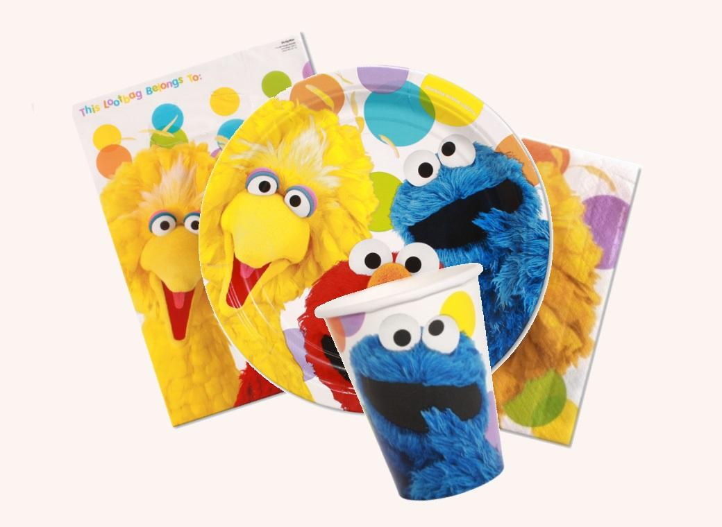 Sesame Street Party Pack 40pce