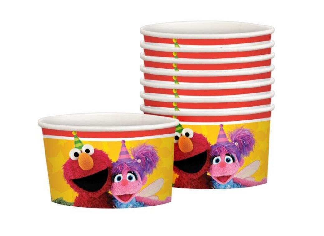 Sesame Street Treat Cups 8pk