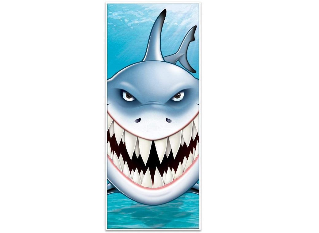 Shark Door Poster