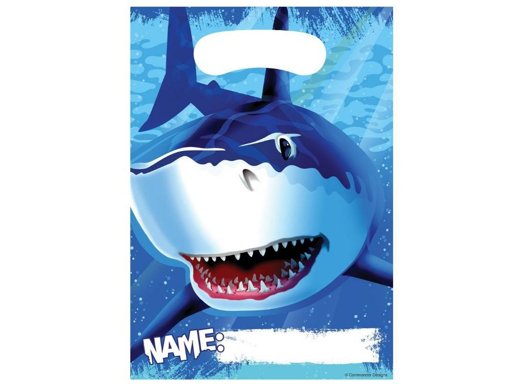 Shark Splash Loot Bags 8pk