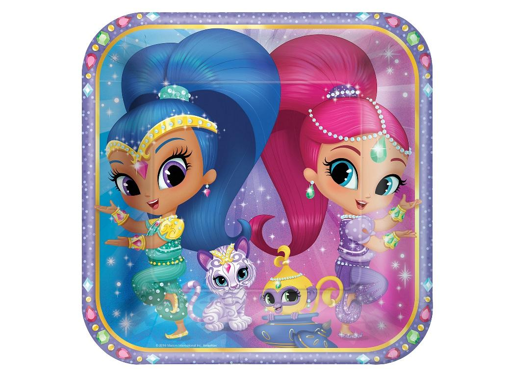Shimmer&Shine Dinner Plates 8pk