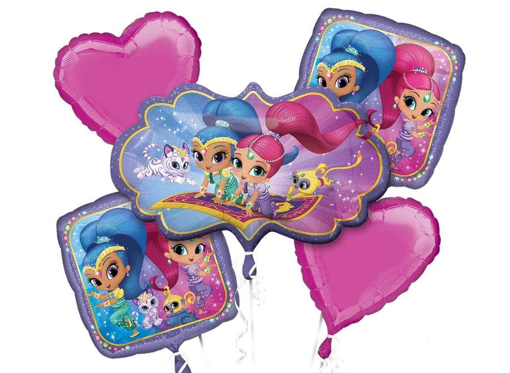 Shimmer & Shine Foil Balloon Bouquet