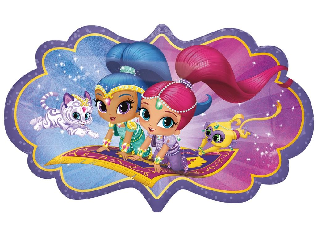 Shimmer & Shine SuperShape Foil Balloon