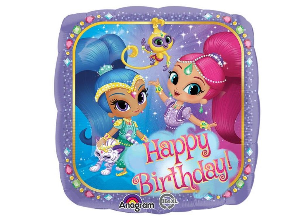 Shimmer & Shine Happy Birthday Foil Balloon
