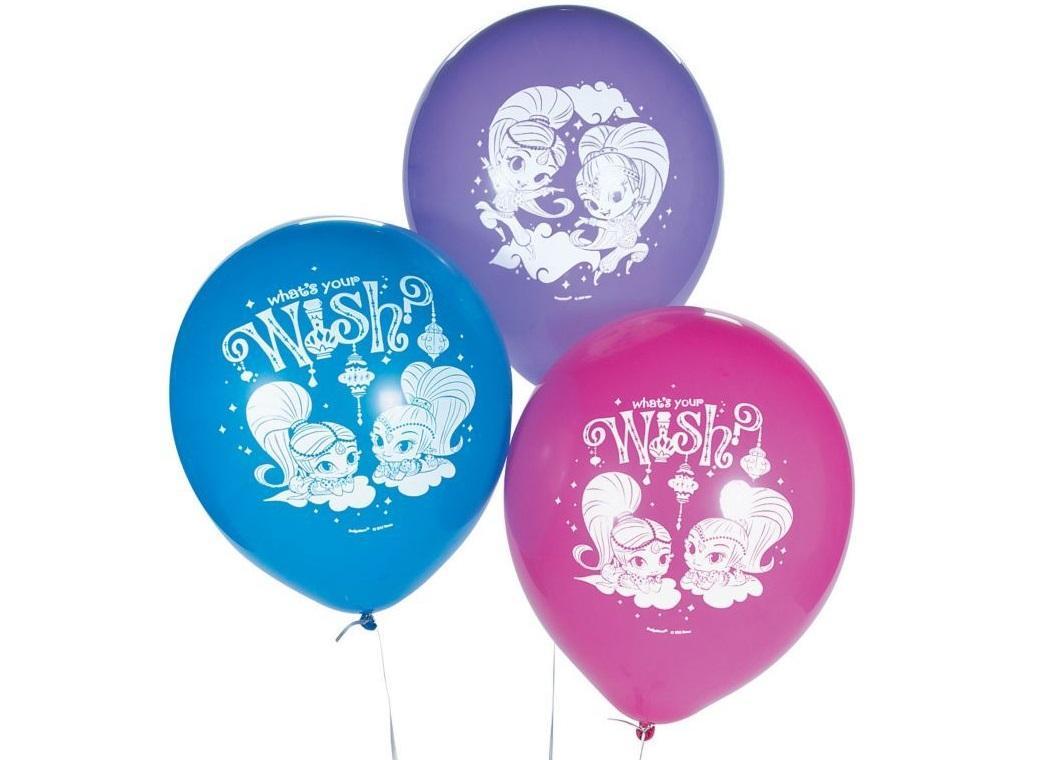 Shimmer & Shine Balloons 6pk