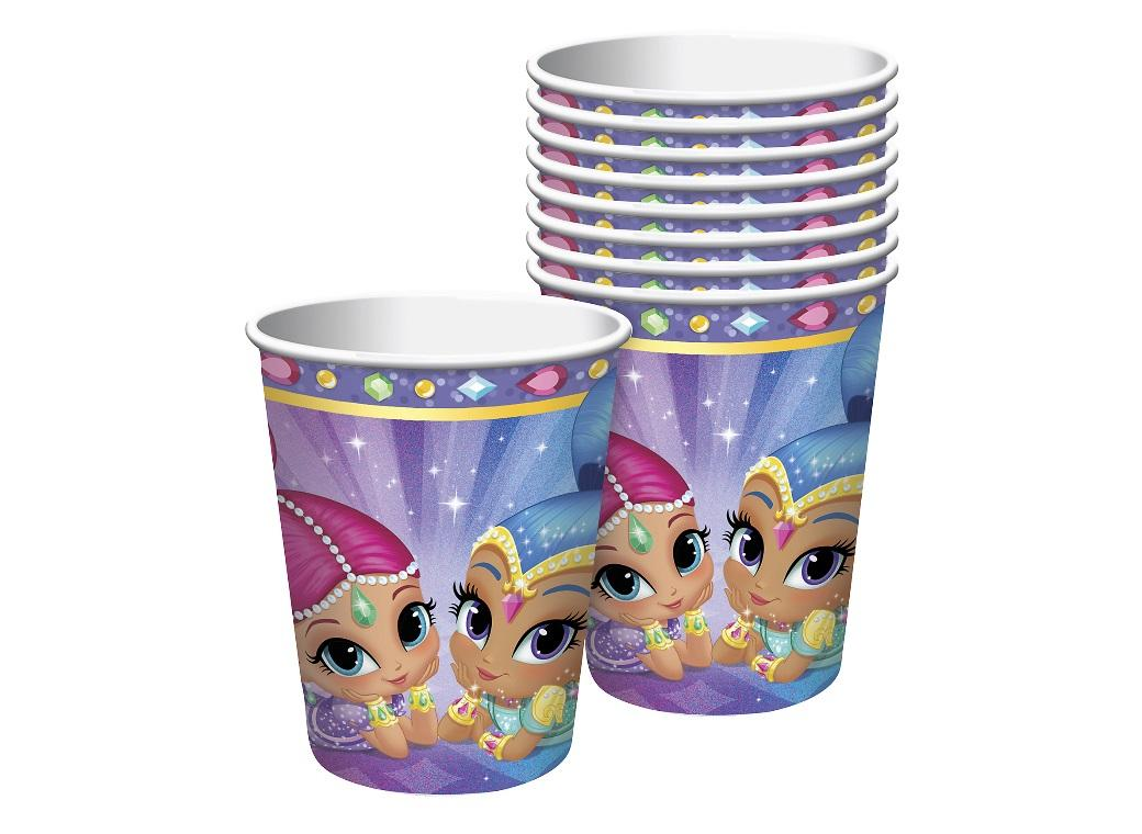 Shimmer & Shine Cups 8pk