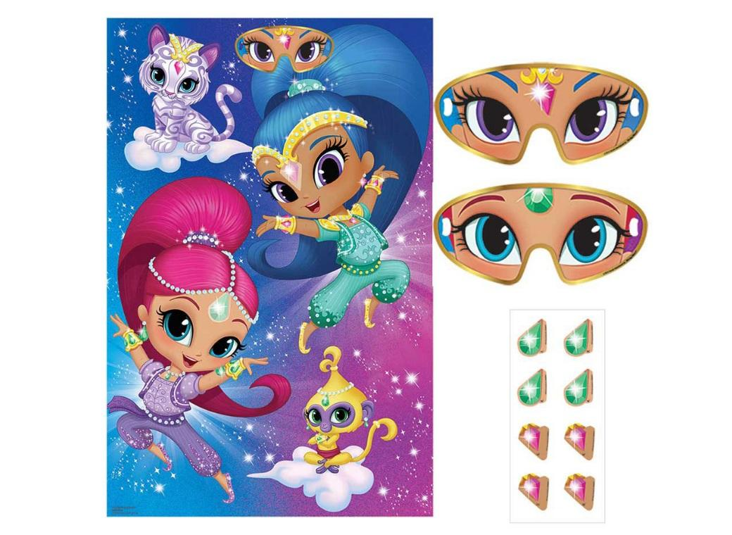 Shimmer Shine Party Game
