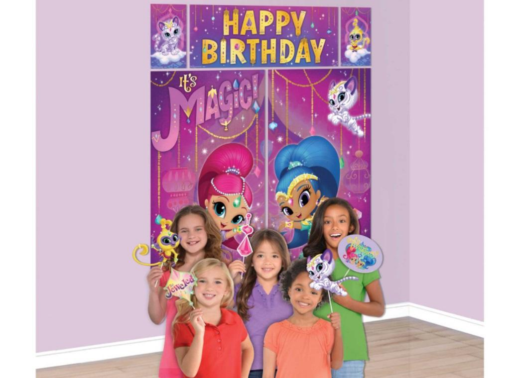Shimmer & Shine Scene Setter with Photo Props