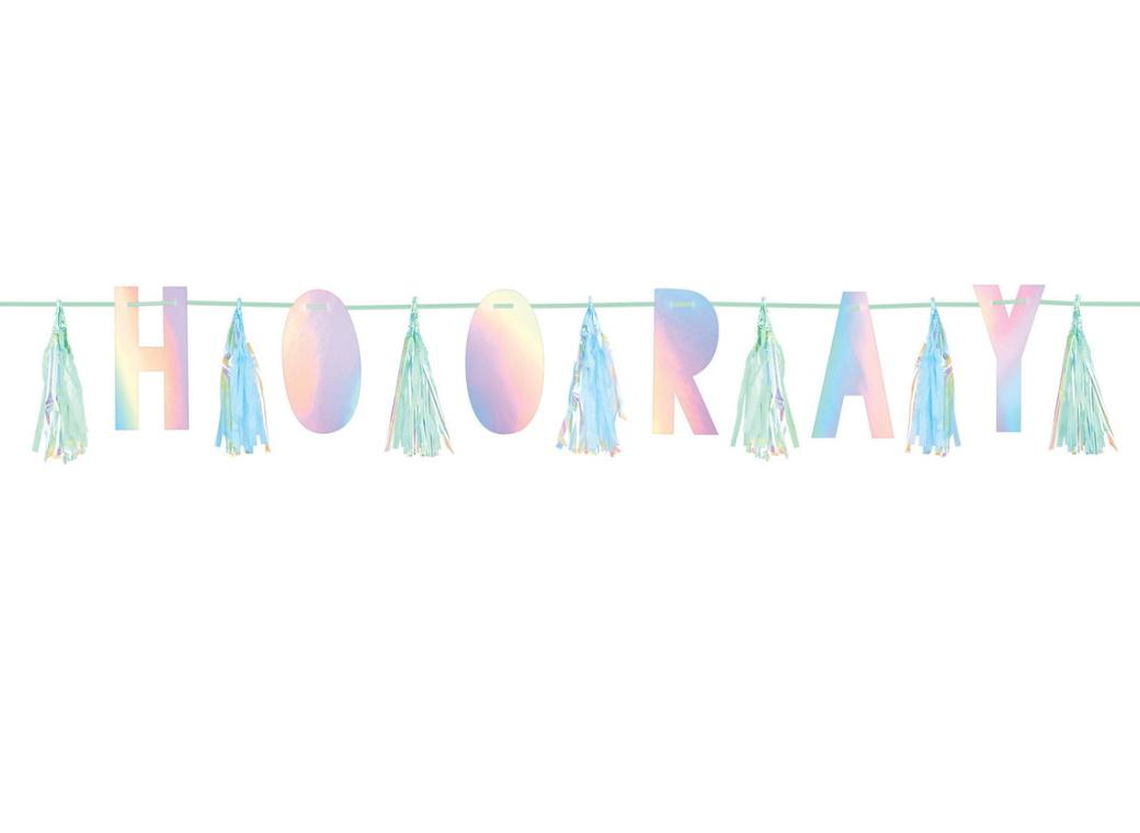 Shimmering Party Hooray Tassel Garland