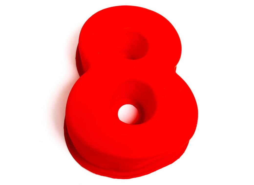 Silicone Baking Mould - Number 8