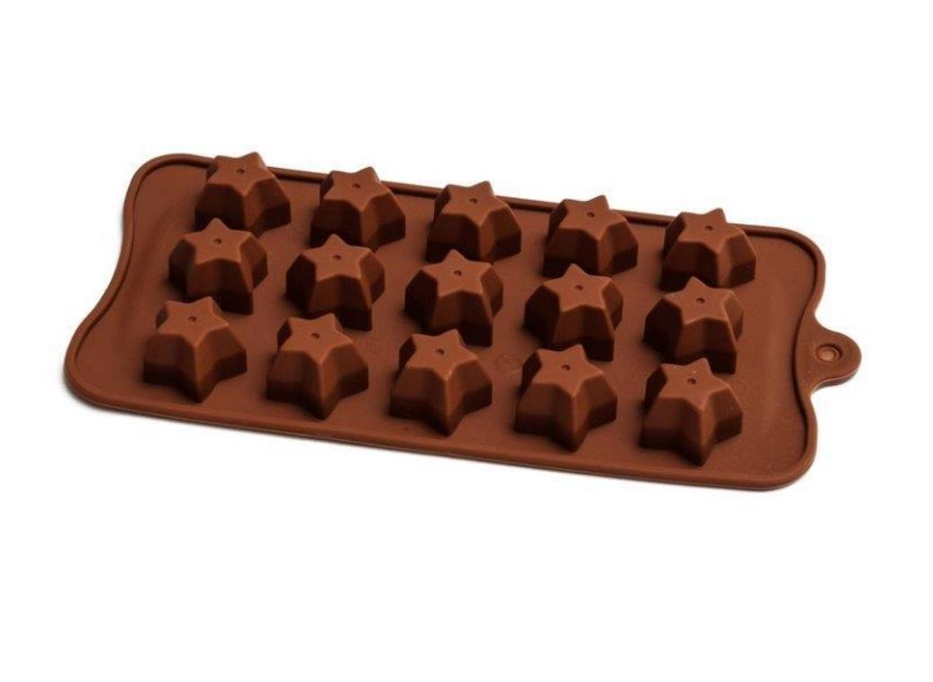 Silicone Chocolate Mould - Star