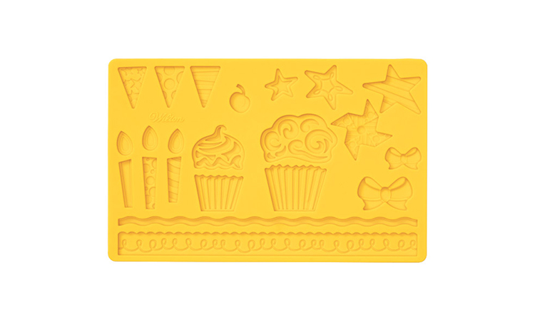 Wilton Silicone Mould - Kids Party