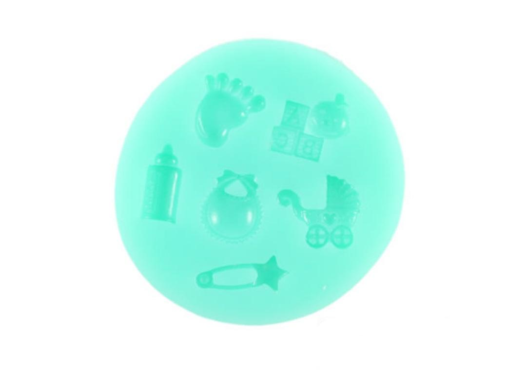 Silicone Mould - Baby Theme