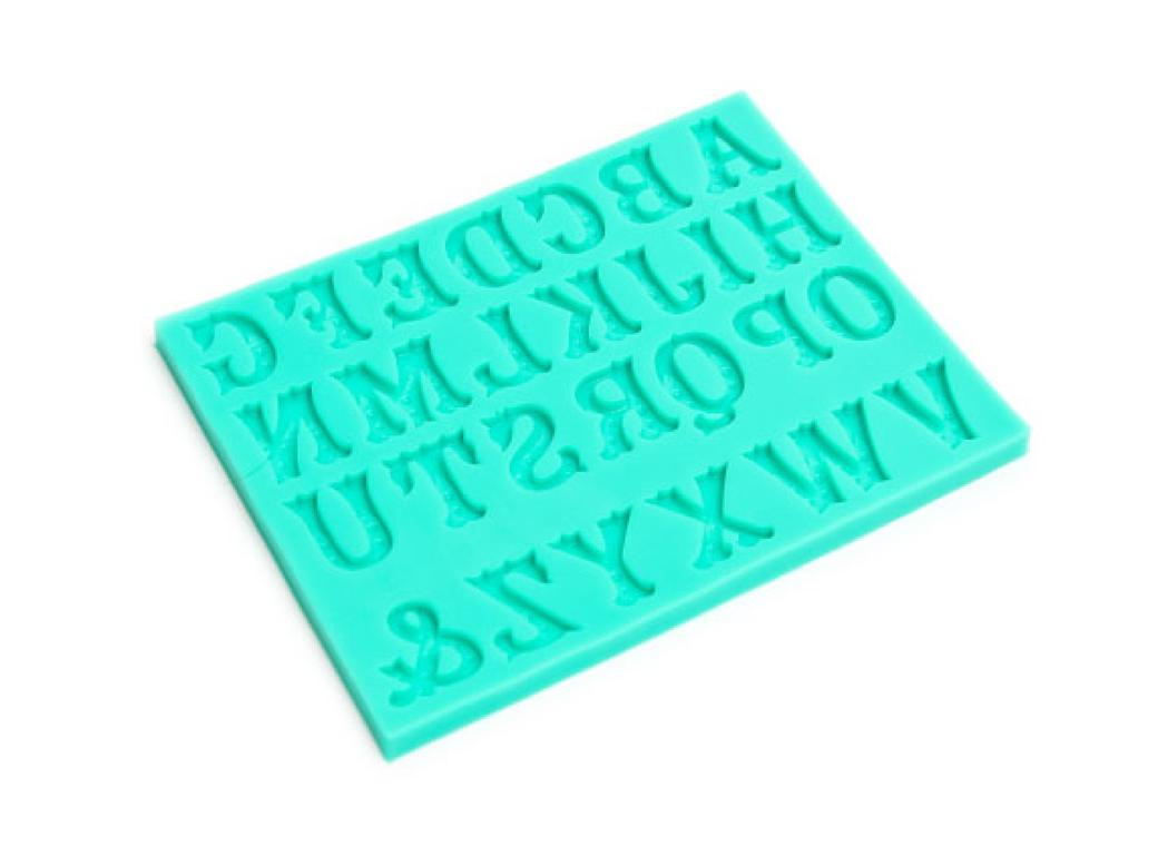 Silicone Mould - Circus Font Alphabet