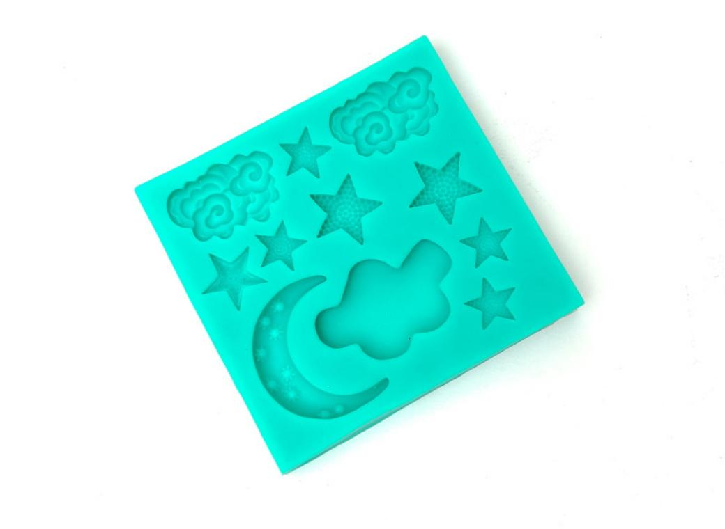 Silicone Mould - Night Sky