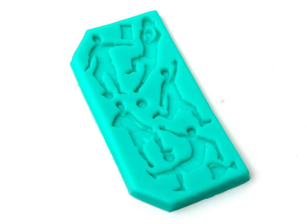 Silicone Mould - Soccer Players