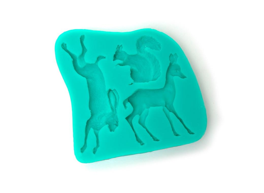 Silicone Mould - Woodland Animals