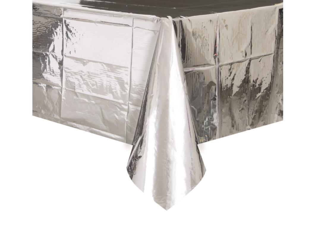Silver Metallic Tablecover