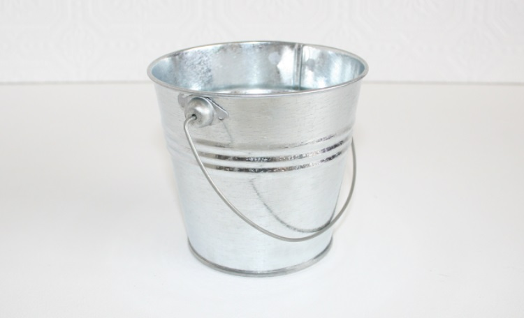 Small Galvanised Bucket