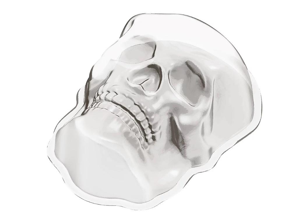 Skull Shaped Jelly Mould