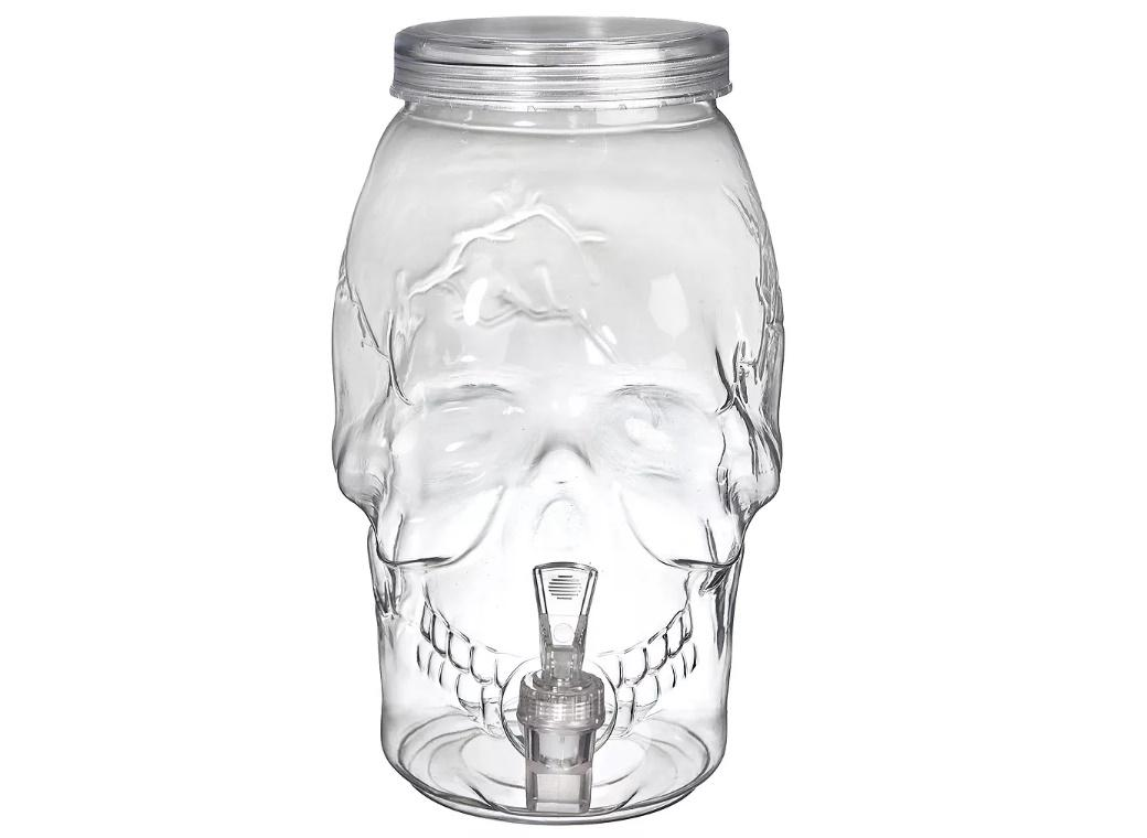 Skull Shaped Drinks Dispenser