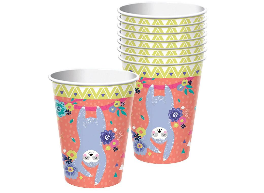 Sloth Cups 8pk