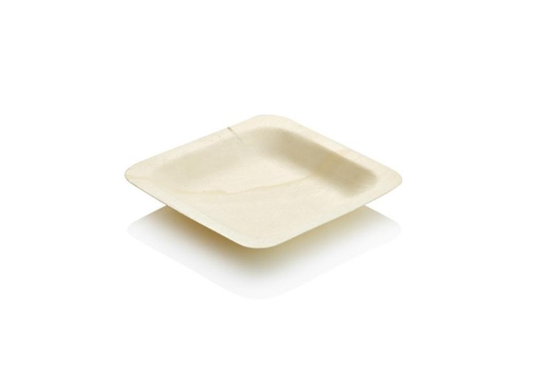 Wooden Plates Small - 10pk
