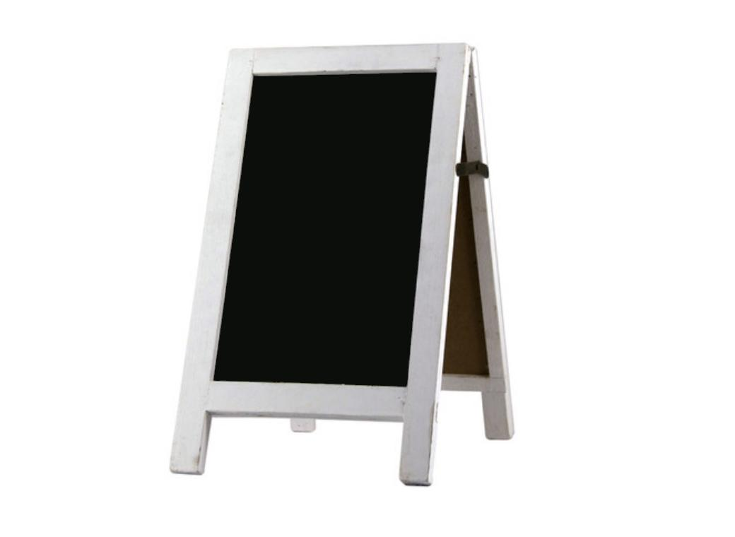 A-Frame Chalkboard - Small