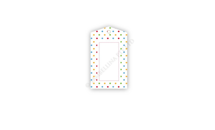 Sambellina Gift Tags - Rainbow Dots