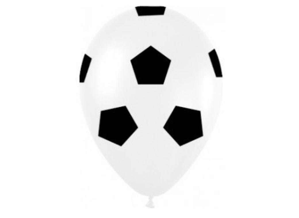 Soccer Ball Balloons - 5pk