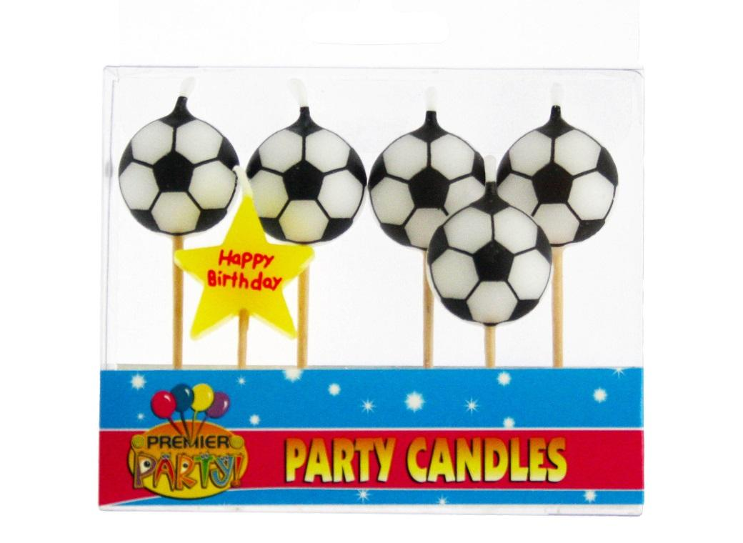 Soccer Candles Set