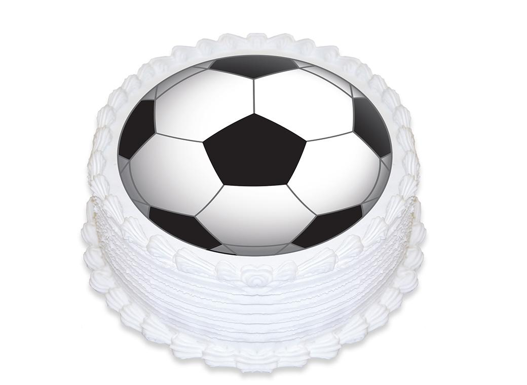 Edible Icing Image - Soccer Round