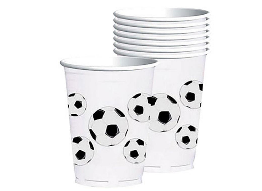 Soccer Fan Large Cups 8pk