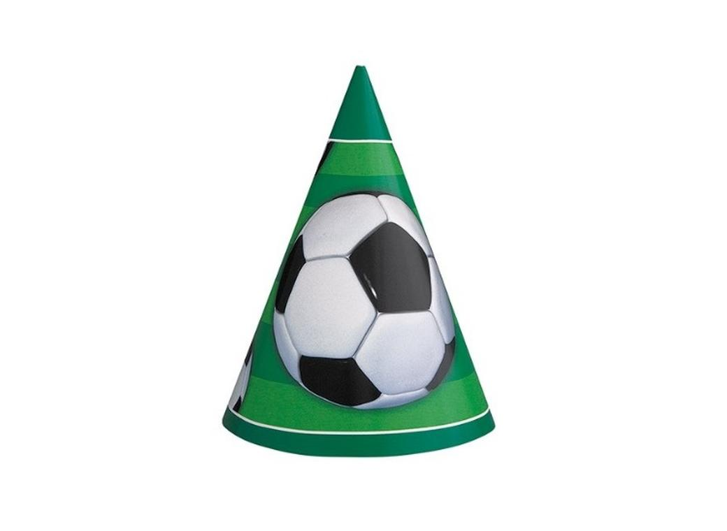 Soccer Party Hats - 8pk