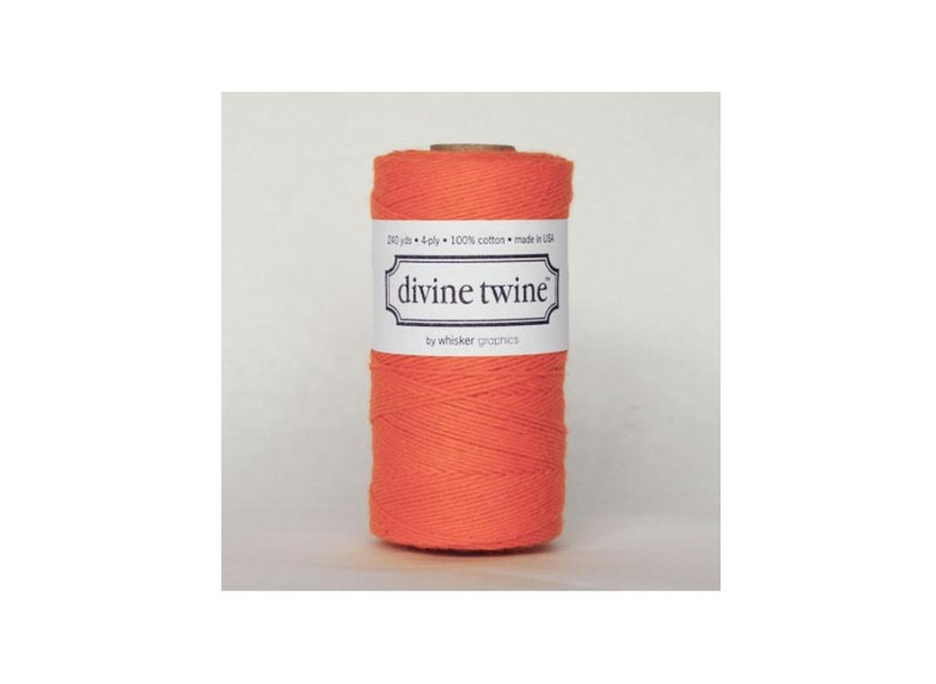 100% Cotton Bakers Twine - Solid Orange