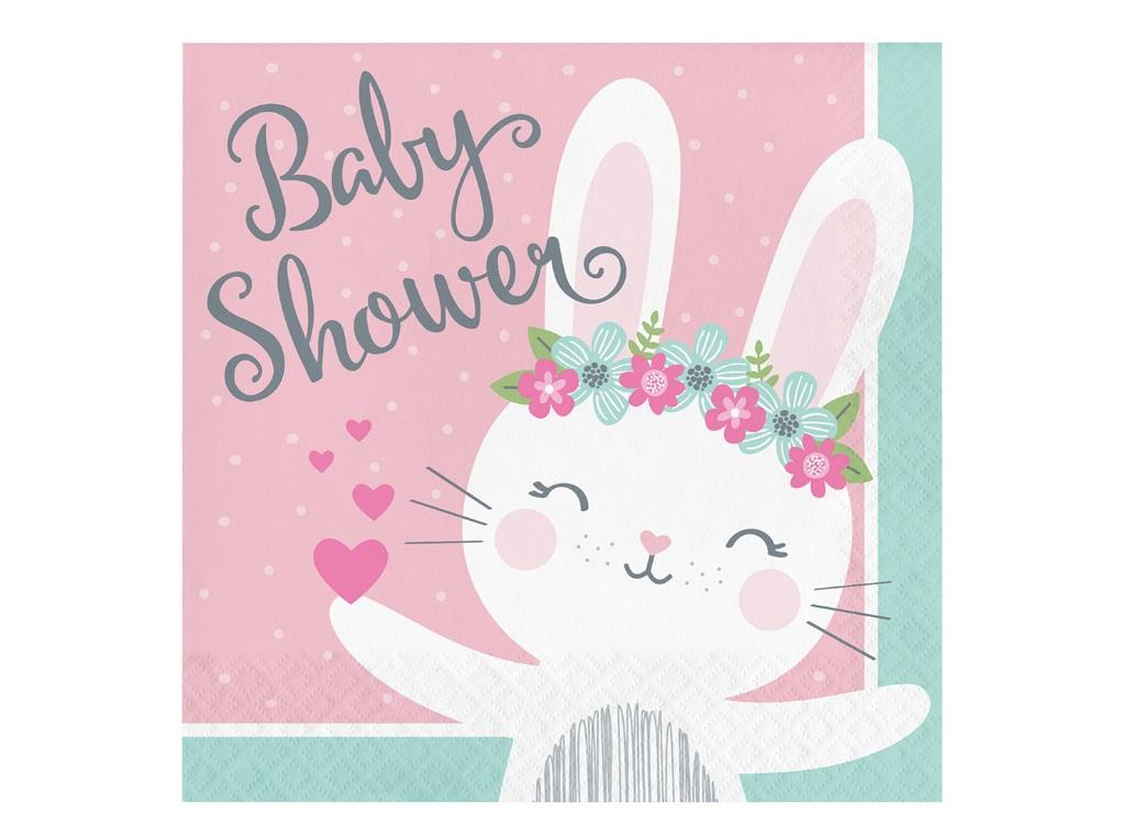 Some Bunny Baby Shower Lunch Napkins 16pk