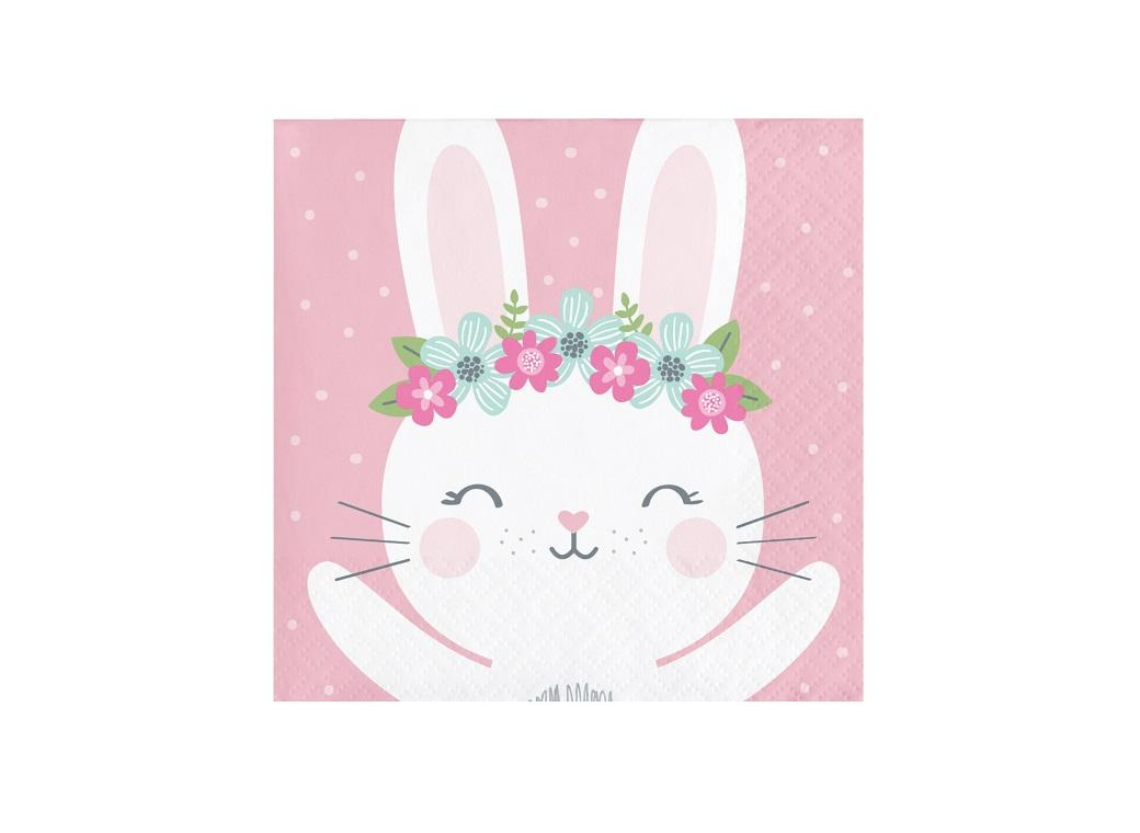 Some Bunny Beverage Napkins 16pk
