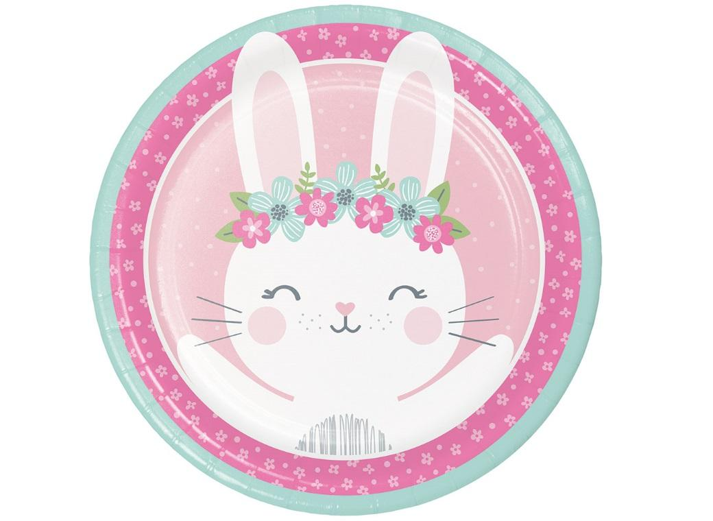 Some Bunny Dinner Plates 8pk