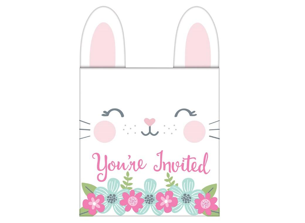 Some Bunny Invitations 8pk