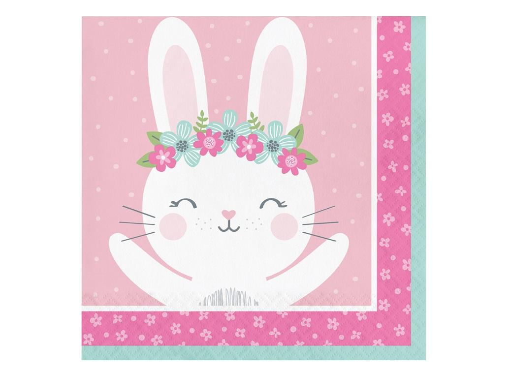 Some Bunny Lunch Napkins 16pk