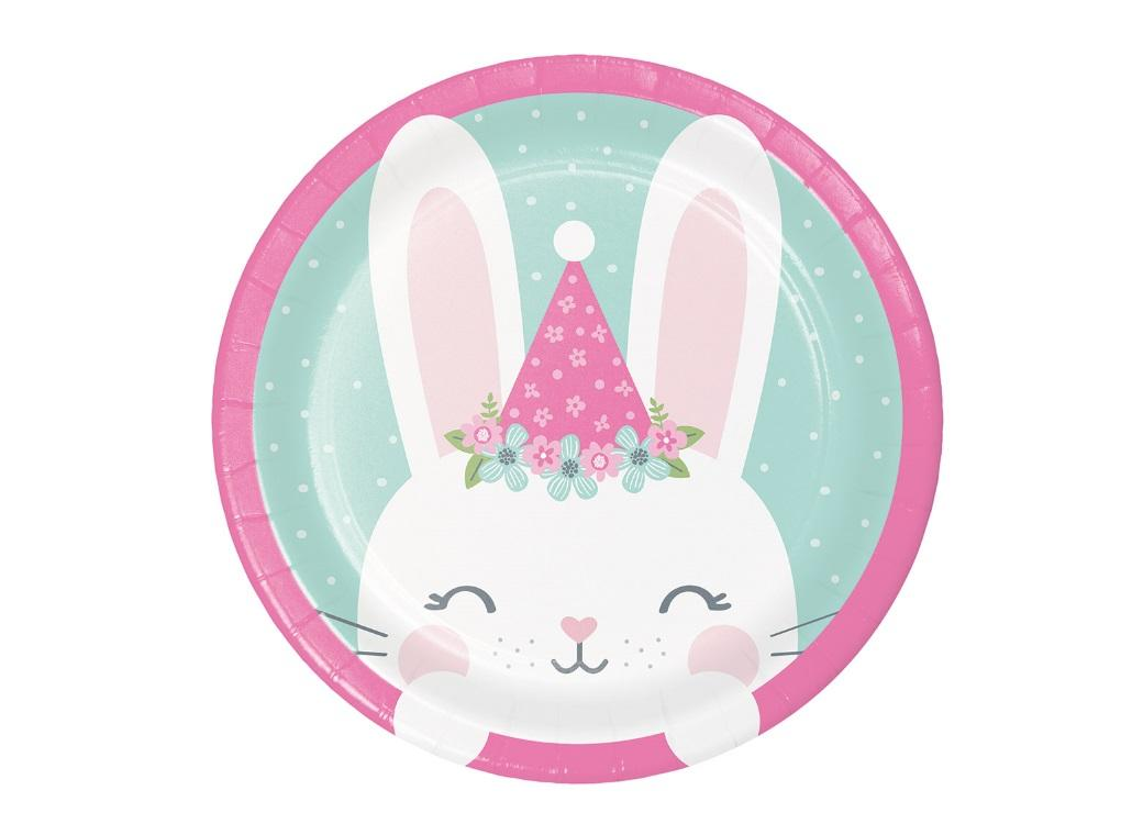 Some Bunny Lunch Plates 8pk