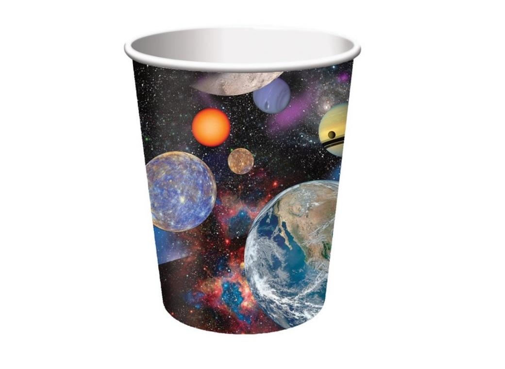 Space Blast Party Cups 8pk