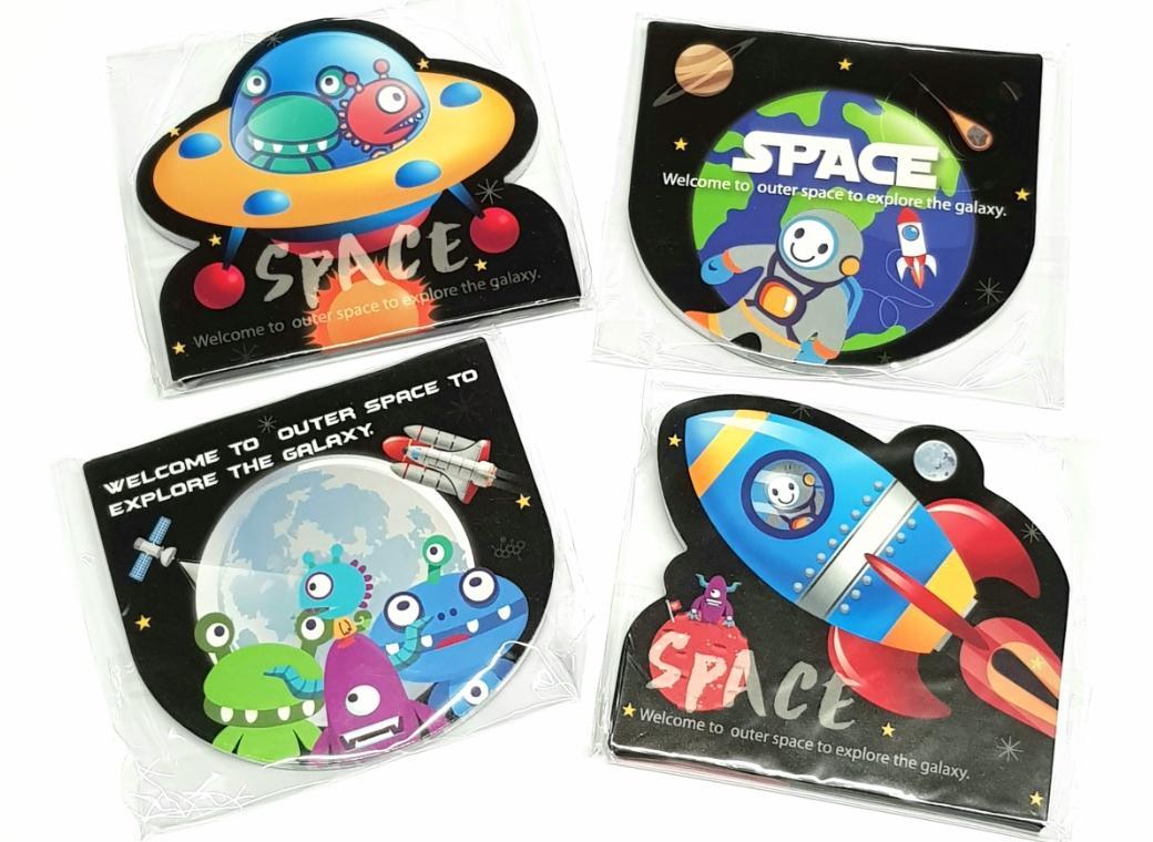 Space Memo Pad