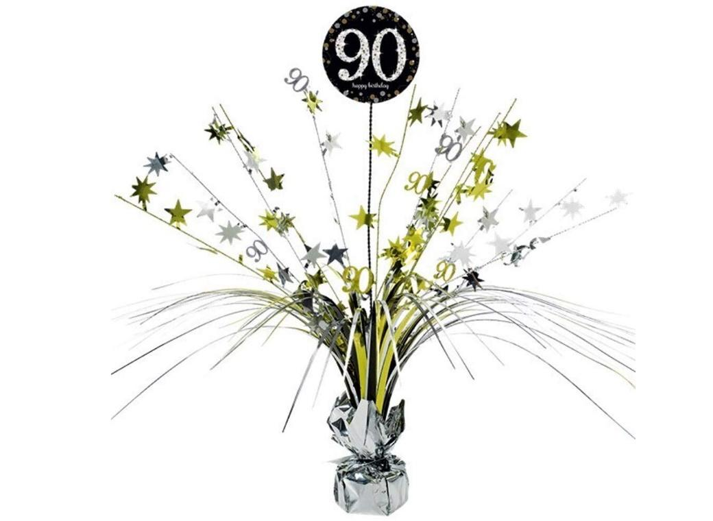 Sparkling 90th Birthday Centrepiece Spray