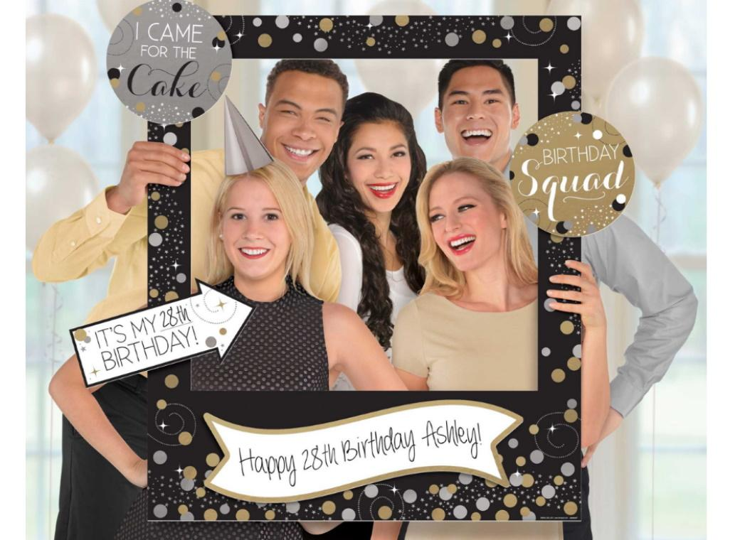 Sparkling Celebration Giant Photo Frame Kit