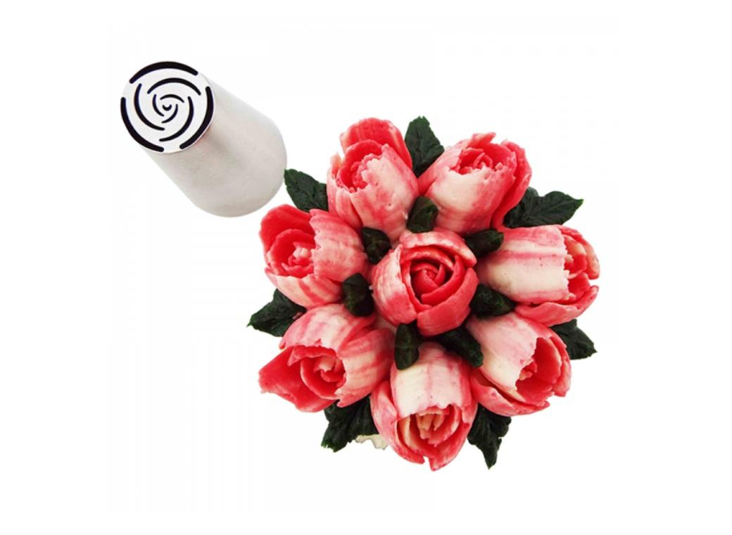 Specialty Icing Tip - 10 Petal Rose