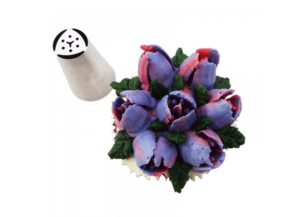 Specialty Icing Tip - 3 Petal Tulip
