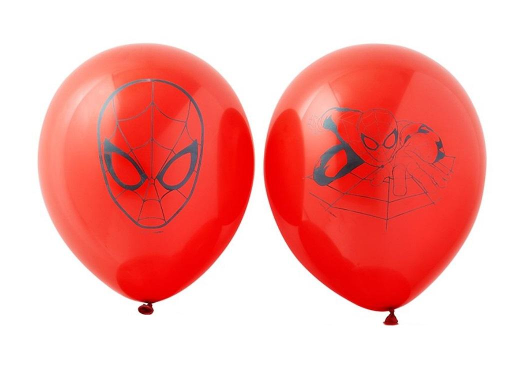 Ultimate Spiderman Balloons - 6pk